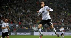 خلاصه بازی آلمان 5 - آذربایجان 1