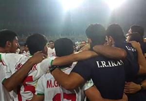 شادی خاص نوجوانان ایران بعد از پیروزی مقتدرانه مقابل آلمان