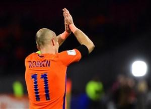 چراغ سبز آرین روبن برای بازگشت به تیم ملی هلند