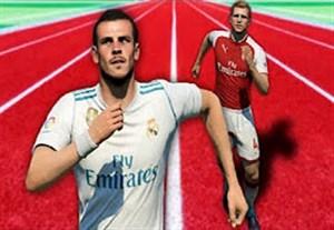 کندترین بازیکنان در FIFA 18