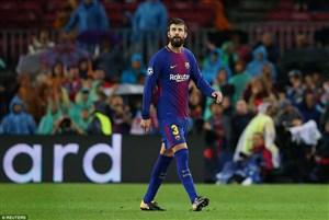 بارسلونا تایید کرد؛ غیبت پیکه مقابل لگانس