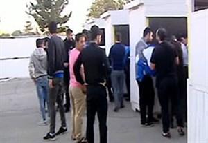 حواشی دیدار استقلال تهران - نساجی مازندران