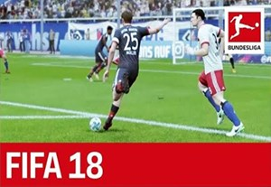شبیه سازی بازی هامبورگ - بایرن مونیخ در FIFA 18