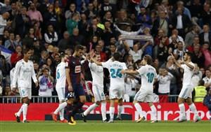 رئال مادرید 3-0 ایبار؛ برد شیرین در برنابئو