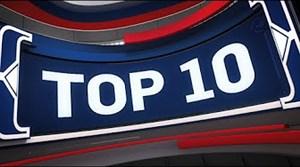 10 حرکت برتر شب گذشته NBA