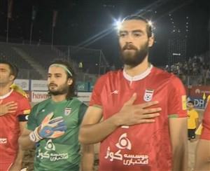 ماجرای مصدومیت امیرحسین اکبری ملی پوش فوتبال ساحلی