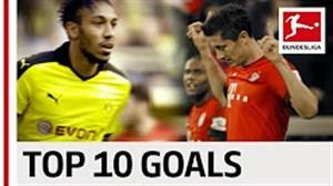 10 گل برتر دو ماشین گلزنی بوندسلیگا