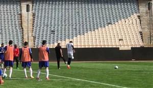پنالتی نیماری بیرانوند در تمرین تیم ملی