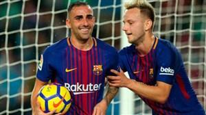 ترکیب اصلی لگانس و بارسلونا
