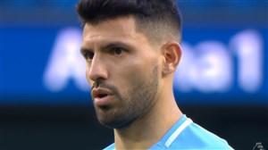 گل دوم منچستر سیتی به آرسنال (آگوئرو)(پنالتی)