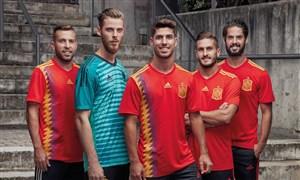 گلهای تیم ملی اسپانیا در مسیر جام جهانی 2018