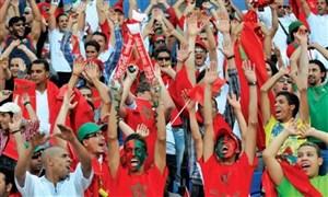 خوشحالی عجیب گزارشگر مراکشی بعد از گل بن عطیه و صعود به جام جهانی