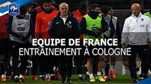 آخرین تمرین فرانسه برای تقابل با آلمان
