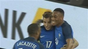 گل اول فرانسه به آلمان ( لاکازت)