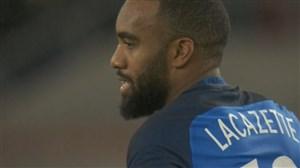 گل دوم فرانسه به آلمان ( دبل لاکازت )