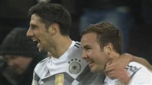گل دوم آلمان به فرانسه (لارس استیندل)