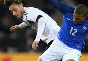 خلاصه بازی آلمان 2 - فرانسه 2