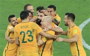 مسیر صعود تیم ملی استرالیا به جام جهانی روسیه