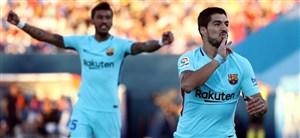 لگانس 0-3 بارسلونا؛ بازگشت پیروزمندانه از مادرید