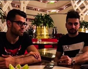 نظر سروش رفیعی و پورعلی گنجی در مورد قرعه ایران در جام جهانی