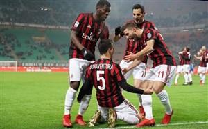 میلان 2-1 بولونیا؛ اولین پیروزی روسونری با گتوزو