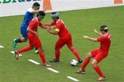 حرکت دیدنی بازیکن نابینای فوتبال ایران