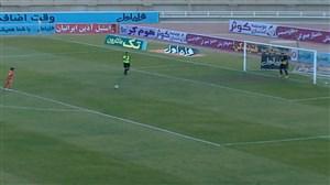 خلاصه بازی استقلال خوزستان 0 - تراکتورسازی 0 + پنالتی