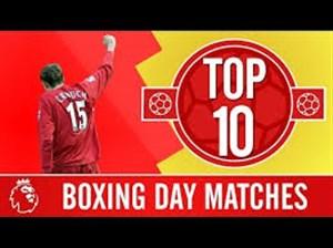 10 بازی برتر لیورپول در روز باکسینگ دی