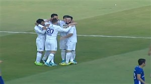 گل دوم استقلال به استقلال خوزستان(قربانی)