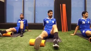 دومین مرحله ریکاوری ملیپوشان فوتبال ایران
