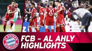 خلاصه بازی دوستانه بایرن مونیخ 6 - الاهلی قطر 0