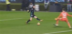 گل اول رئال مادرید به سلتاویگو ( گرت بیل )