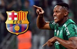 مهارتهای تدافعی و درخشش یری مینا خرید جدید بارسلونا