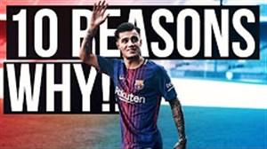 10 دلیل برای موفقیت کوتینیو در بارسلونا