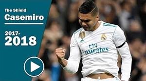 عملکرد کاسمیرو دفاع مستحکم رئال مادرید