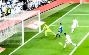 گل پنجم رئال مادرید به لاکرونیا (رونالدو)