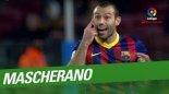 بهترین حرکات تدافعی ماسکرانو در بارسلونا