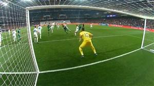 گل دوم لگانس به رئال مادرید (پائولیستا)