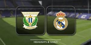 خلاصه بازی رئال مادرید 1 - لگانس 2