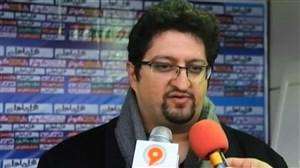 کنفرانس خبری بعد از بازی گسترش فولاد و نفت تهران