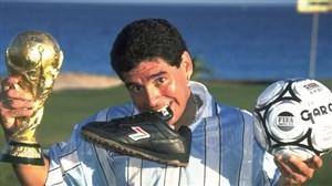 نگاهی به زندگی مارادونا اسطوره فوتبال جهان