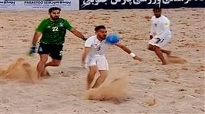 خلاصه فوتبال ساحلی (پرشین کاپ) ایران 3 - آذربایجان 2