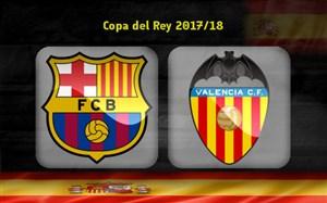 خلاصه بازی بارسلونا 1 - والنسیا 0