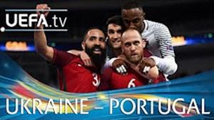 خلاصه بازی اوکراین 3 - پرتغال 5
