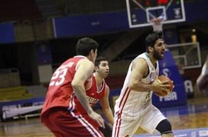مهرام یک گام به فینال لیگ بسکتبال نزدیک شد