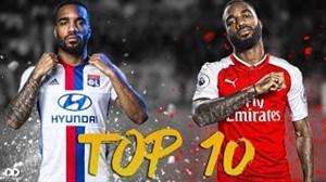 10 گل برتر الکساندر لاکازت از 2010 تا 2018