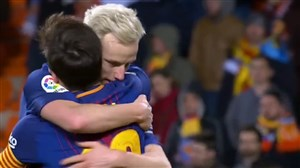 پیش بازی ایبار - بارسلونا