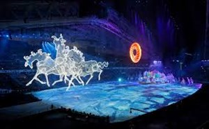 گزیده مراسم افتتاحیه المپیک زمستانی 2018 (بخش2)