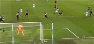 گل چهارم منچسترسیتی با شوت تماشایی آگوئرو
