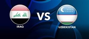 خلاصه بازی عراق 4 - ازبکستان 4 + ضربات پنالتی